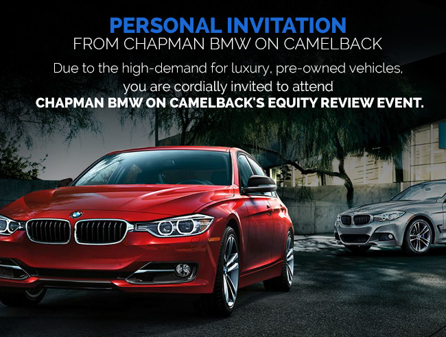 Chapman Bmw On Camelback >> Chapman Bmw On Camelback New And Used Vehicle Specials